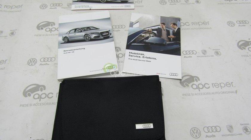 Mapa Audi A6 4G Manual Utilizare in limba germana