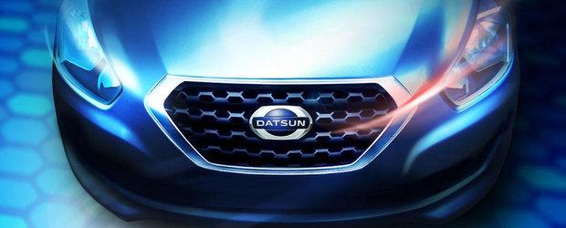 Marca Datsun revine din 15 iulie