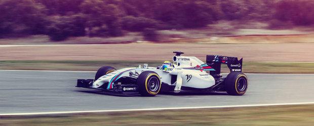 MARTINI Racing revine la linia de start in Formula 1