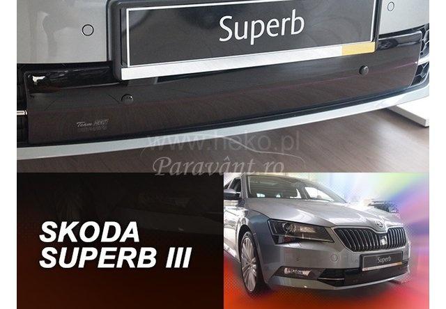 Masca radiator in bara SKODA SUPERB an fabr. 2015- (marca HEKO) AutoLux