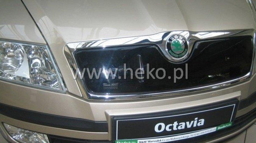 Masca radiator SKODA OCTAVIA II an fabr. 2004- (marca HEKO) AutoLux