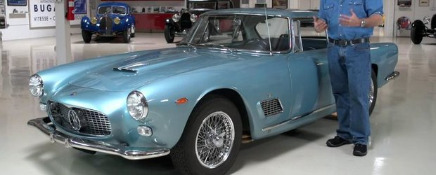Maserati 3500 GTi din 1962 este cea mai noua masina din garajul lui Jay Leno