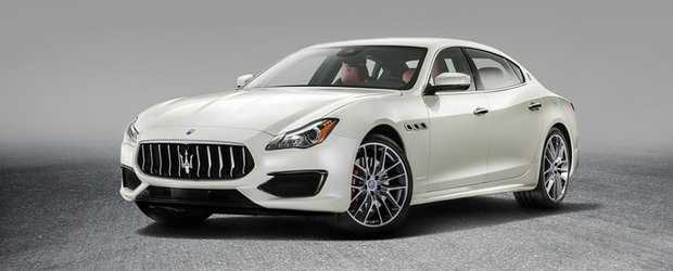 Maserati a lansat cea mai noua generatie a modelului Quattroporte