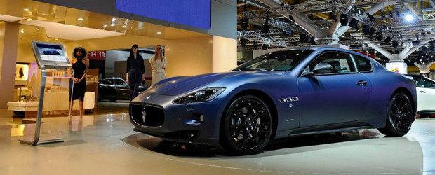 Maserati a lansat un Granturismo S in editie limitata