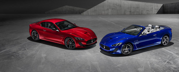 Maserati aniverseaza 100 de ani de existenta cu doua modele speciale
