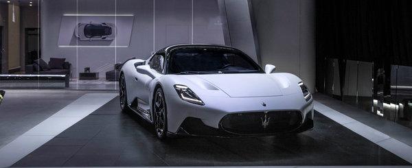 Maserati cauta sa-i cucereasca pe chinezi cu noua creatie. POZE REALE cu MC20