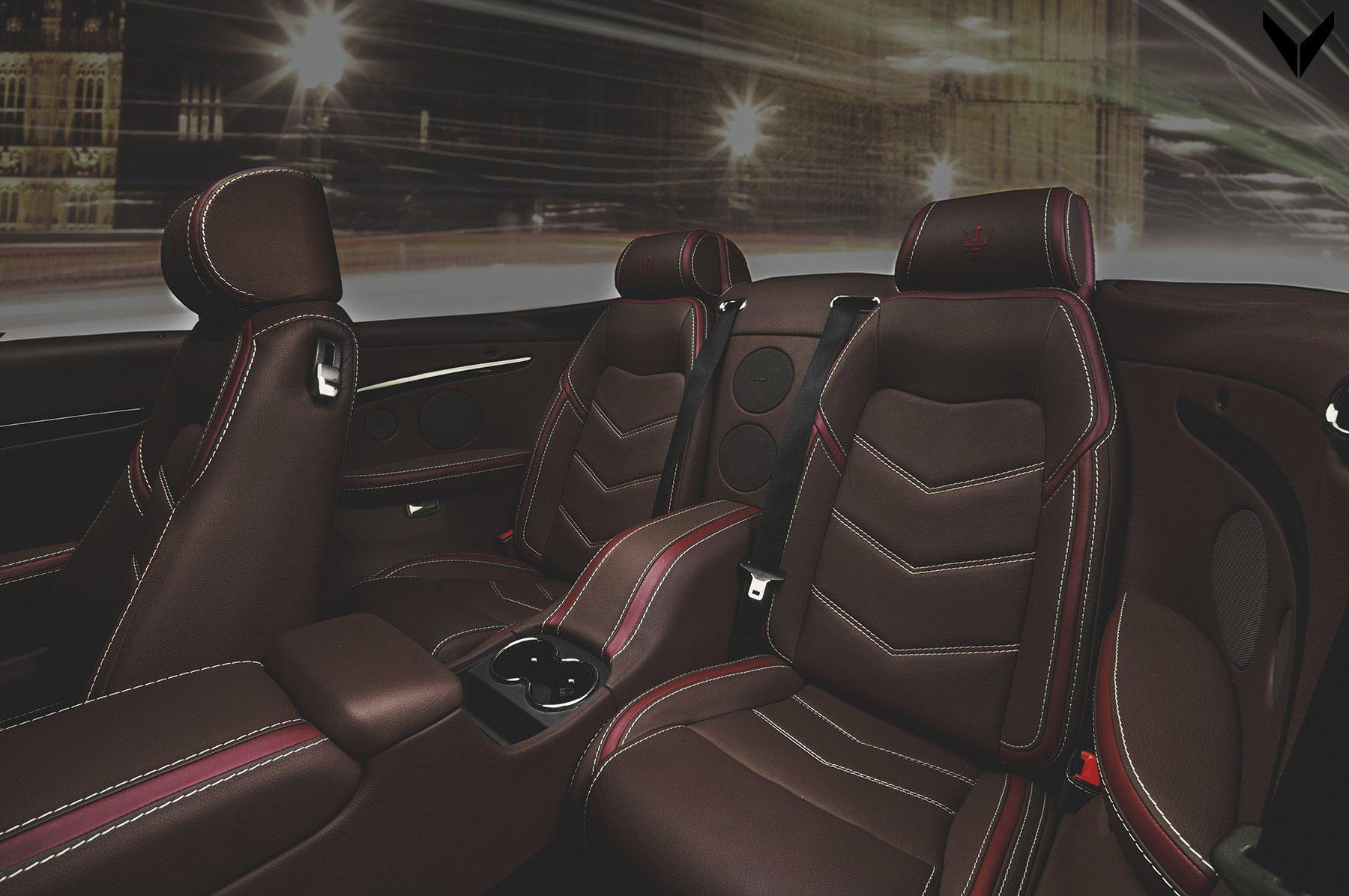 Maserati GranCabrio cu interior Vilner - Maserati GranCabrio cu interior Vilner