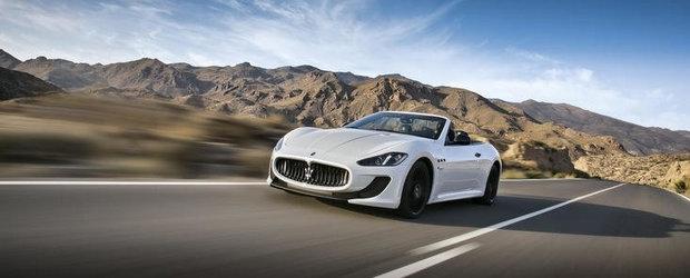 Maserati GranCabrio MC, dezvaluit oficial