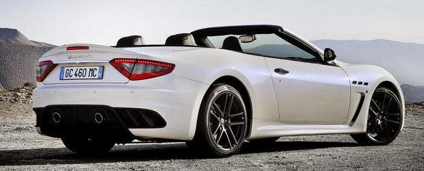 Maserati GranCabrio MC Stradale ni se prezinta in primele imagini oficiale