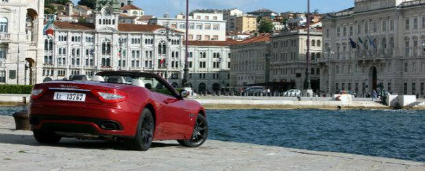 Maserati GranCabrio Sport in 24 de imagini memorabile