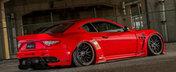 Un Maserati umflat si culcat pe burta pe care si l-ar dori oricine