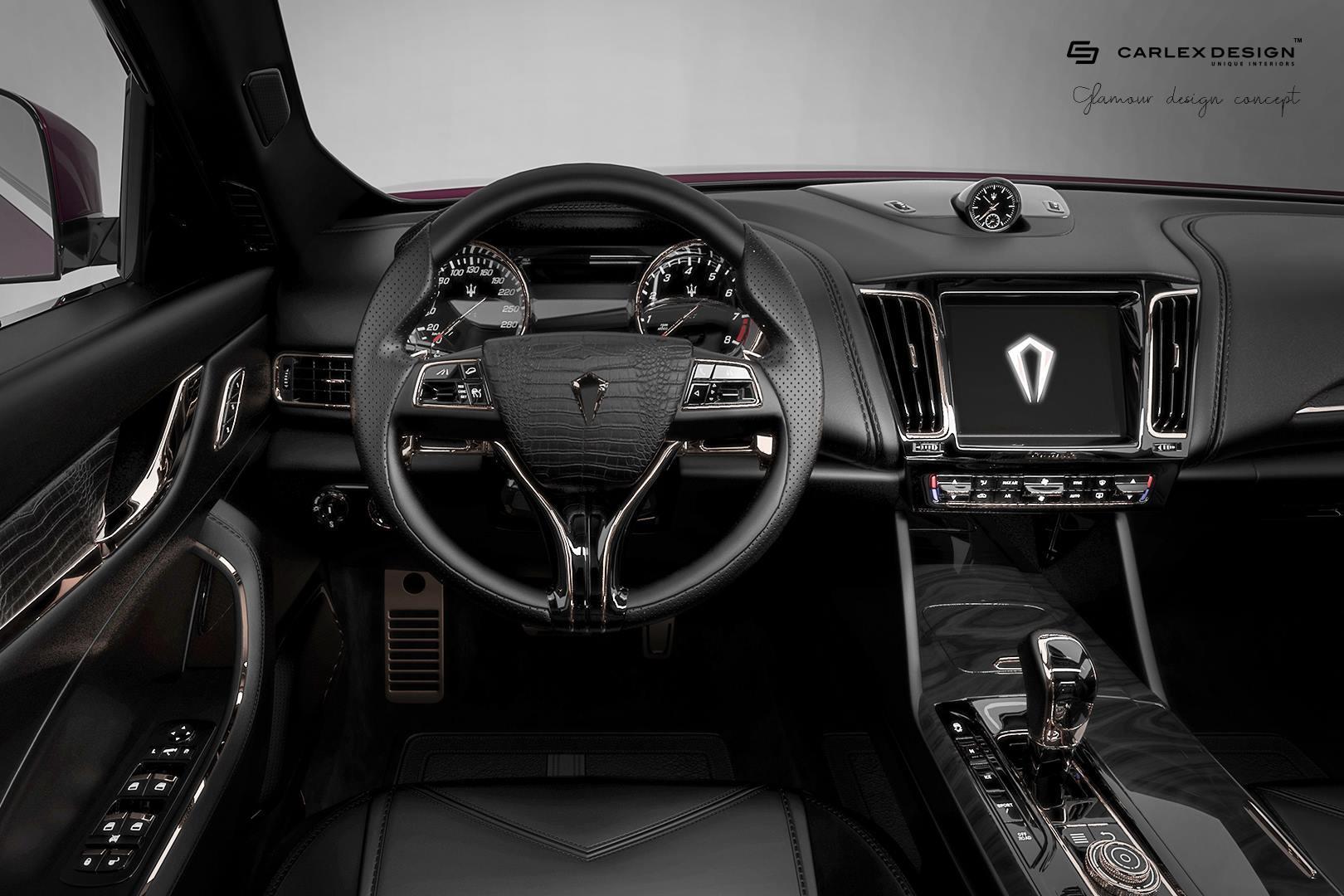 Maserati Levante de la Carlex Design - Maserati Levante de la Carlex Design