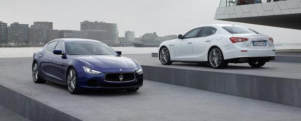 Maserati nu va construi mai mult de 75.000 masini pe an
