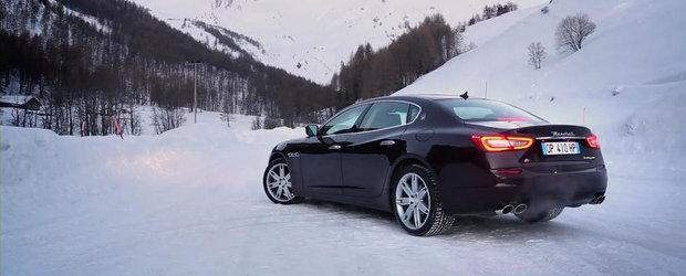 Maserati prezinta in actiune si detaliu noul Quattroporte S Q4