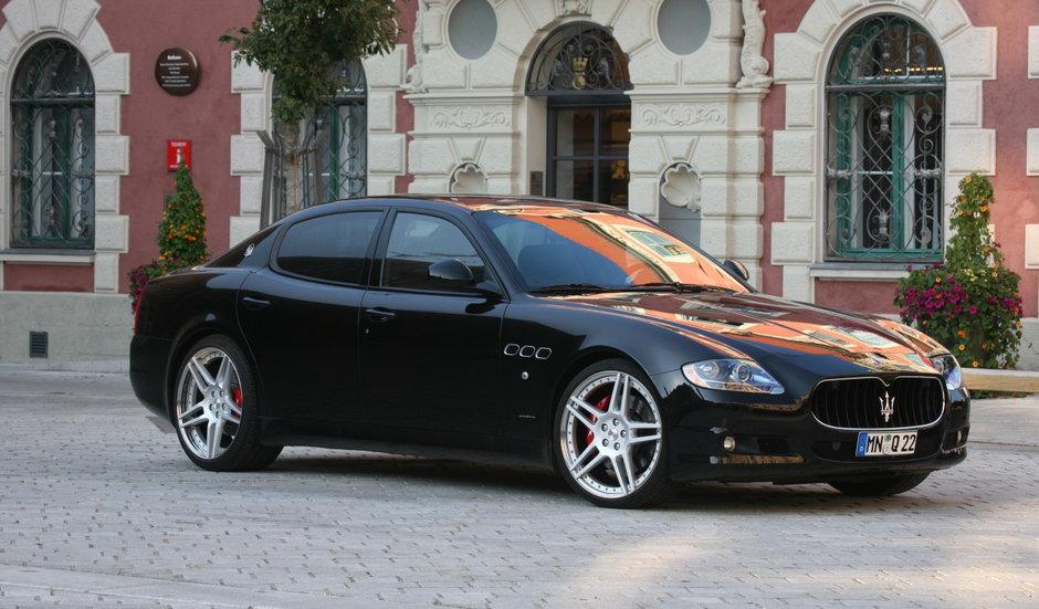 Maserati Quattroporte tunat de Novitec - Un bad boy la costum