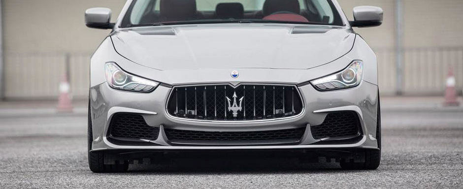 Maserati-ul asta ne arata ca in China se face si tuning de calitate