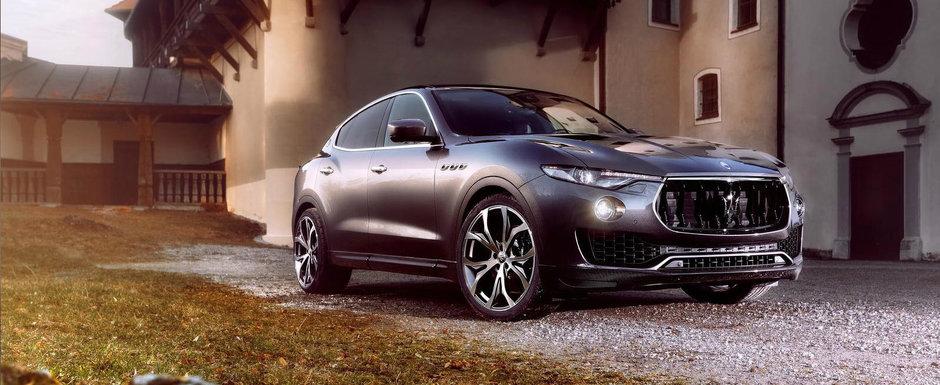 Maserati-ul Levante a primit un plus de agresivitate de la Novitec