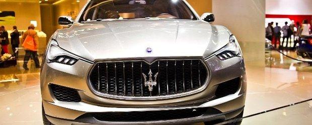 Maserati va lansa un sedan diesel si un nou SUV