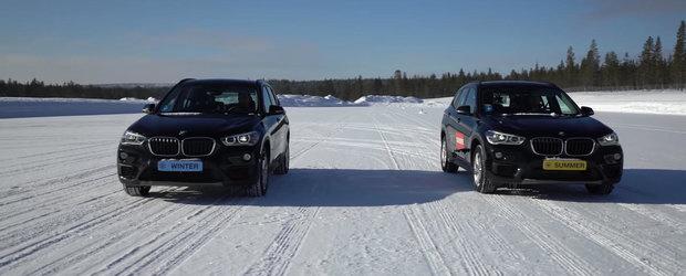 Masina 4x4 cu anvelope de vara sau masina cu tractiune spate si anvelope de iarna?