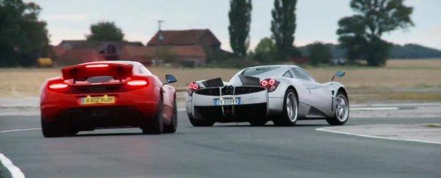 Masina anului 2012, dupa cei de la EVO: cu Huayra, McLaren si alte masini tari