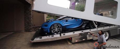 Masina ca a lui nu mai are nimenea. Tipul asta a pus mana pe SINGURUL Bugatti Vision Gran Turismo din lume
