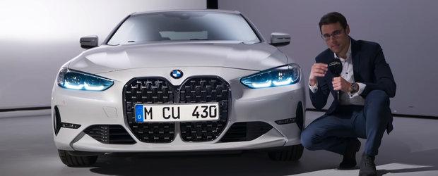 Masina care a impartit internetul in doua. Cum arata in realitate noul BMW Seria 4 Coupe