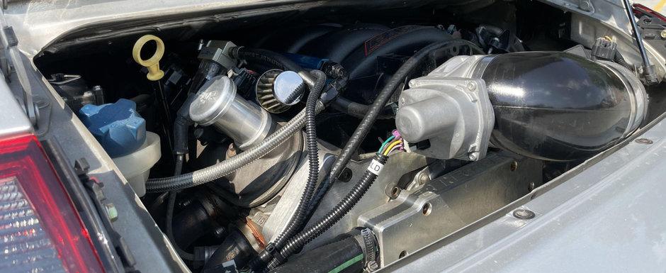 Masina care a impartit internetul in doua. Motorul original a fost inlocuit cu unul de aproape doua ori mai mare
