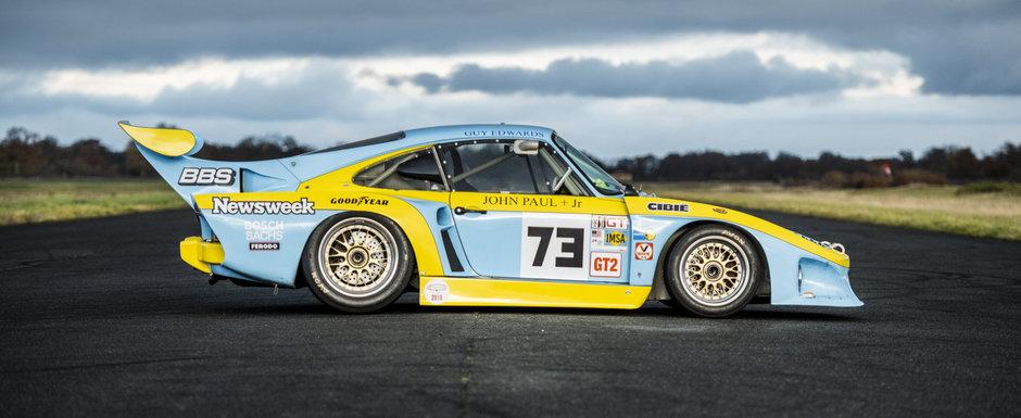 Masina care a terminat a doua la Le Mans in 1980 este acum de vanzare. Cat costa
