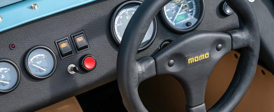 Masina care cantareste mai putin decat motorul unui Bugatti