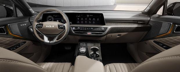 Masina care concureaza cu BMW Seria 5 a primit o noua generatie. Primele imagini de la interior au fost publicate chiar acum