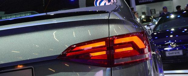 Masina care le-a starnit curiozitatea fanilor Volkswagen. POZE REALE