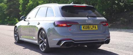 Masina care le da cosmaruri posesorilor de M3 si C63. Noul RS4 Avant accelereza mult mai repede decat declara Audi
