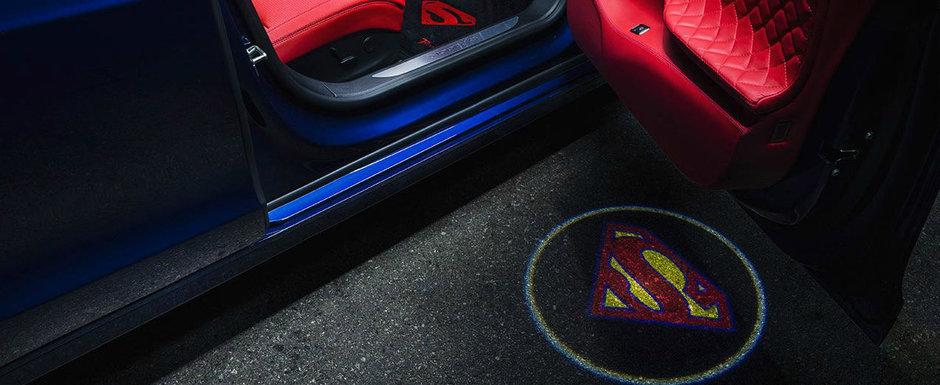 Masina condusa de cel mai mare fan al lui Superman. POZE REALE
