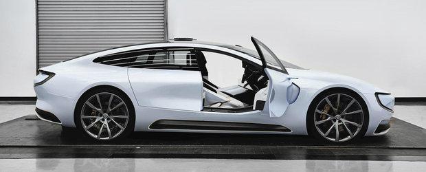 Masina cu care chinezii vor sa concureze Tesla Model S. Cum arata si ce poate.