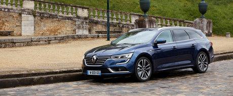 Masina cu care francezii vor sa puna capat dominatiei VW. Uite cum arata noul Renault Talisman Estate