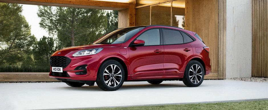 Masina cu care mergi aproape gratis. Noul SUV de la FORD are un consum mixt de 1.2 litri/100 km