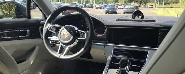 MASINA cu care Porsche vrea sa bata Audi A8, BMW Seria 7 si Mercedes S-Class. VIDEO COMPLET