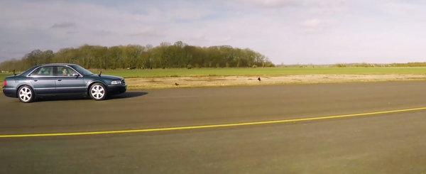 Masina cu cel mai mare motor a pierdut toate cursele. Vechiul S8 a luat bataie chiar si de la un diesel