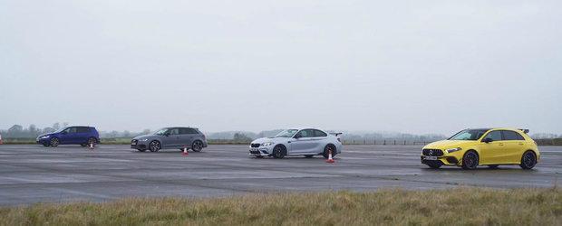 Masina cu cel mai puternic motor de 2.0 litri din industrie isi intalneste rivalii. VIDEO cu liniutele