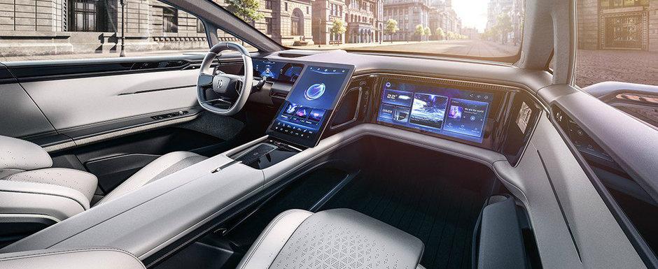 Masina cu cel mai spectaculos interior din industrie. Nu este un Mercedes S-Class!