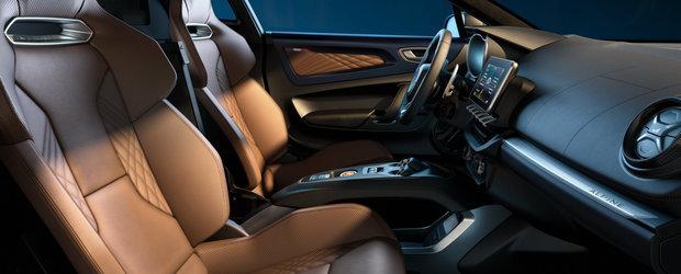Masina cu motor central a francezilor a primit o noua versiune. Tapiteria din piele si sistemul audio de la Focal sunt standard