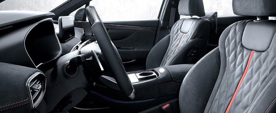 Masina cu motor de 1.6 litri si 265 CP. Compania producatoare a publicat noi imagini oficiale