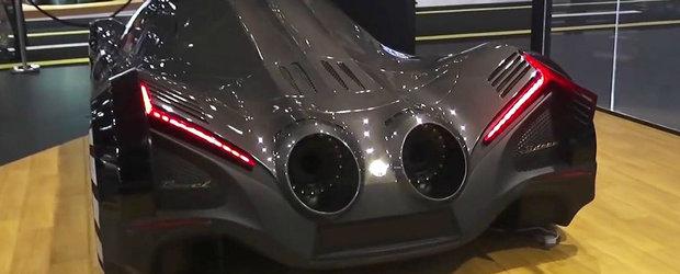 Masina cu motor de 12.3 litri si 5000 CP. Compania producatoare face un anunt surprinzator
