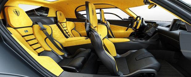 Masina cu motor de 2.0 litri si 1.700 CP. Compania producatoare publica noi imagini spectaculoase