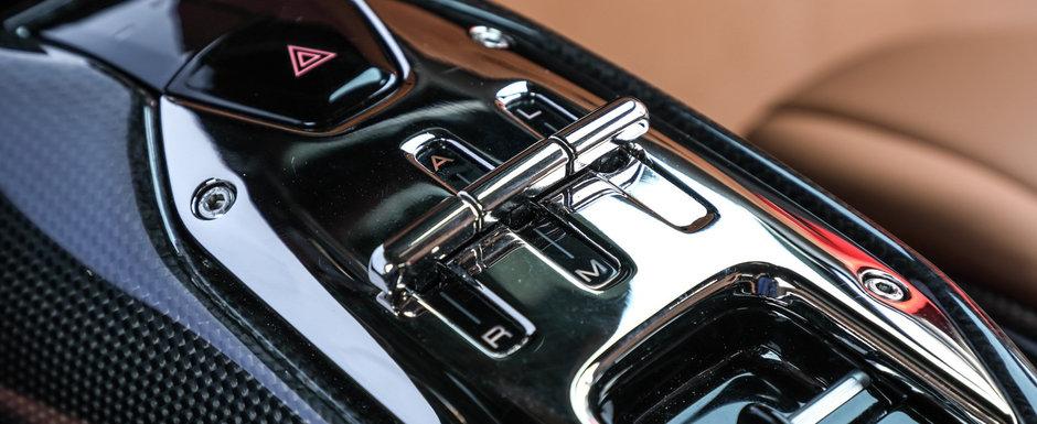 Masina cu motor de 4.0 litri si 1.118 CP. Compania producatoare a publicat acum primele imagini si detalii oficiale