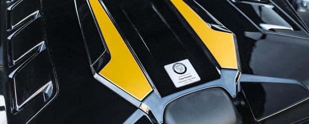 Masina cu motor de 4.0 litri si 905 CP. Compania producatoare a publicat acum primele imagini si detalii oficiale