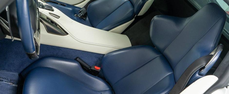 Masina cu motor V10 si scaune din piele albastra i-a apartinut lui Paris Hilton. Acum se vinde pentru aceasta suma de bani