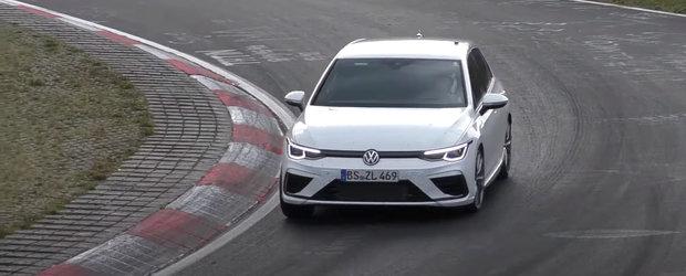 Masina de 333 CP pe care Volkswagen o va lansa saptamana viitoare a fost surprinsa in teste complet necamuflata