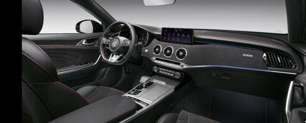 Masina de 366 CP de la Kia a primit un facelift major. Cat costa in Romania versiunea mult imbunatatita