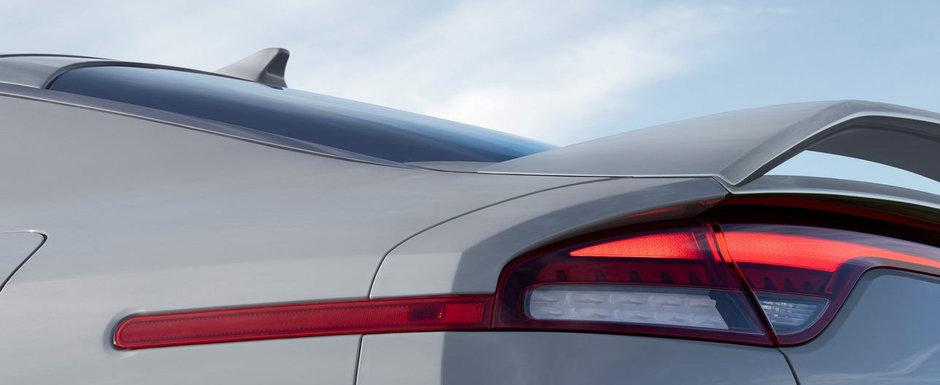Masina de 368 CP de la Kia a primit o noua versiune. Jantele pe 19 inch si tapiteria din piele Nappa sunt standard